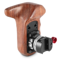 Левая рукоятка SmallRig Wooden Grip with NATO Mount 2118