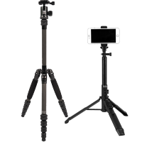 Штатив Sirui Traveler 5C + Штатив-монопод Sirui MS-01K Umbrella Tripod